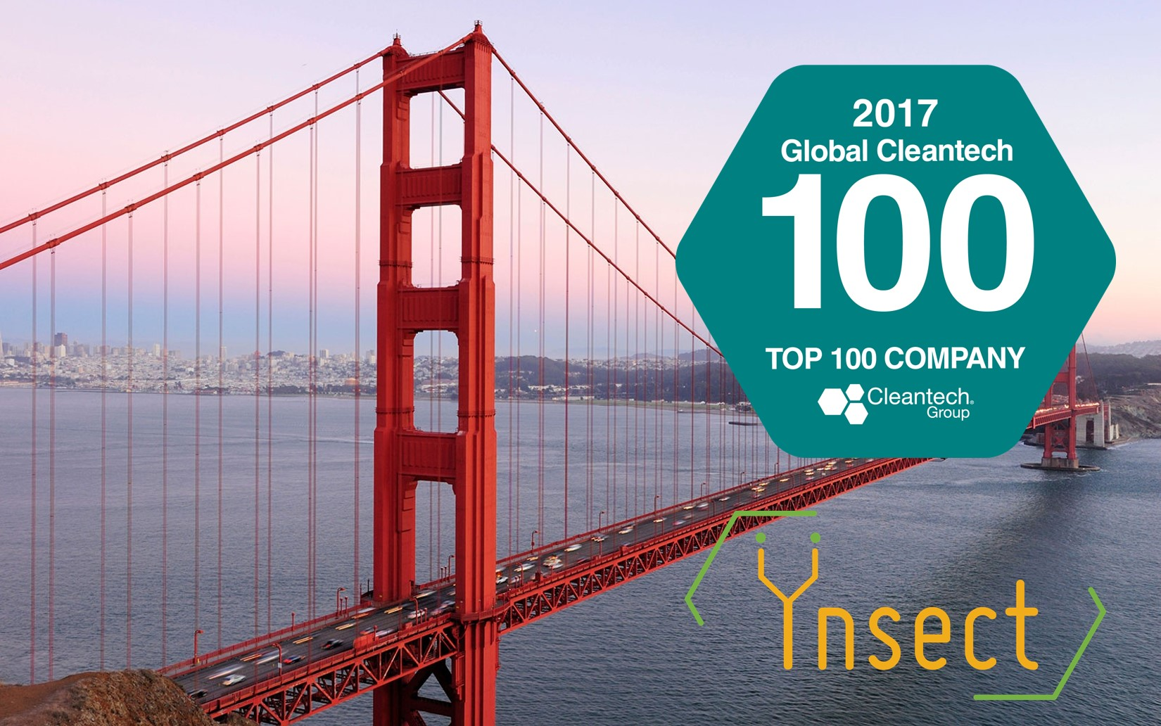 Laureate of the 2017 Global Cleantech 100