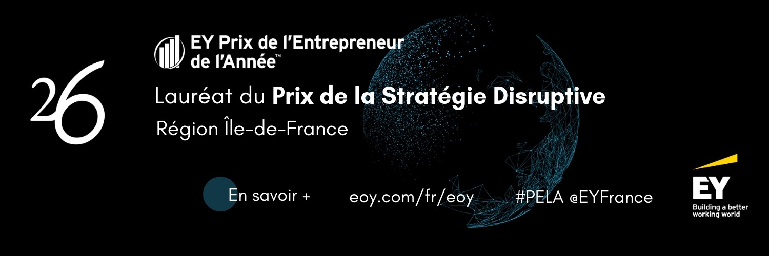 Winner of the EY Price Best Disruptive Strategy 2018 in IDF